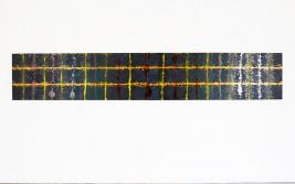 """Halsduk"", Diptyk, Oil/Board, 340 X 60 cm."